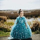 Baby Mädchen Prinzessin Kleid Set Dasongff Tüllrock + Umhang Outfits Blumenmädchenkleid Taufkleid Festlich Kleid Hochzeit Geburtstag Partykleid Festzug Babybekleidung