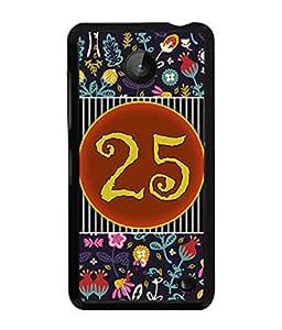 PrintVisa Metal Printed Numeric Designer Back Case Cover for Nokia Lumia 630-D4776