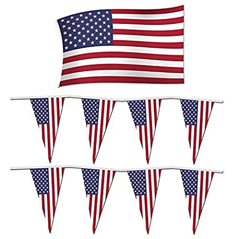 4th of July Independance Day Party Pack: USA / America ft. Flag + Bunting