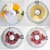 Genius Feelvita Food Processor   20 Teile   Küchenmaschine   14 Funktionen   Zerkleinerer   Bekannt aus TV   NEU Vergleich