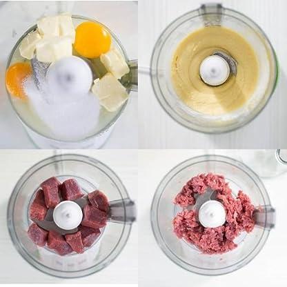 Genius-Feelvita-Food-Processor-12-Teile-Kchenmaschine-11-Funktionen-Zerkleinerer-Bekannt-aus-TV-NEU