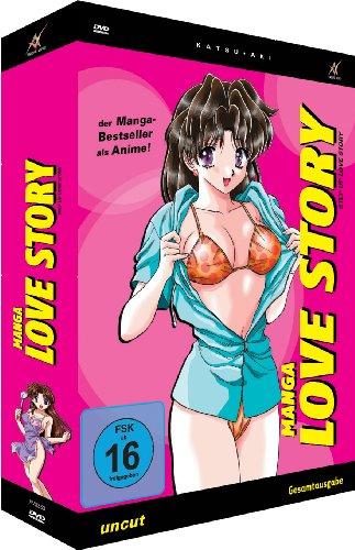 Manga Love Story - Step Up ... - Box [2 DVDs]