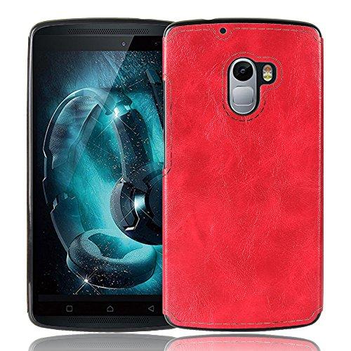 Lenovo Vibe X3 Lite Hülle, CHENXI Slim Zebra-Textur Silikon TPU Schutzhülle Abdeckung Schutz Handy Case für Lenovo Vibe X3 Lite Rot