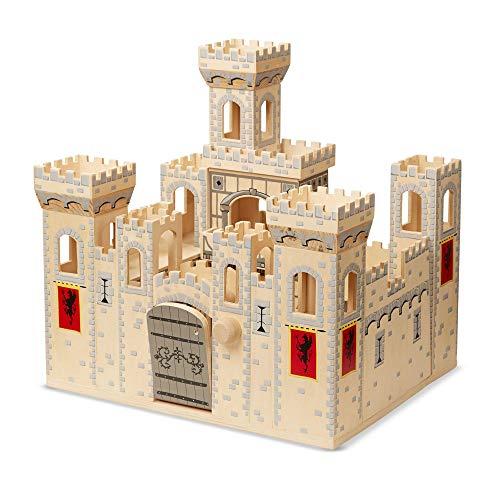 Melissa & Doug - Folding Medieval Castle - Mittelalter Schloß zum Mitnehmen
