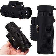 UrChoiceLtd® 2017 PANDA 8x42 Monocular de visión nocturna HD prismáticos non-infrared bolsillo de alta definición de alta potencia de mano Zoom Monocular Telescopio