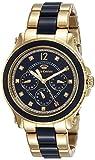 Juicy Couture Damen Multi Zifferblatt Quarz Uhr mit Vergoldet Armband 1901305