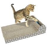 KILLYSUFUY Katzenkratzer Kratzer mit Katzenminze Kratzbäume Katzenspielzeug Kratzbrett Lounge mit Bell-Ball Katzenkratzer Katzenkratzer PET-Bett-Katze-Bett Katzenklo Katzentoilette