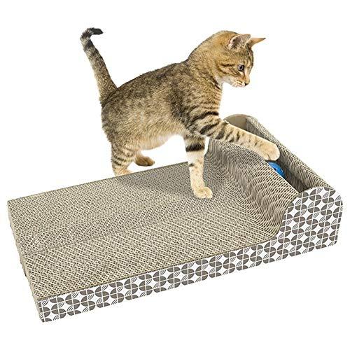 Starter eco-friendly cartone ondulato scratch-cat Paper ondulato gatto giocattolo Pet artiglio Cat scratch Board