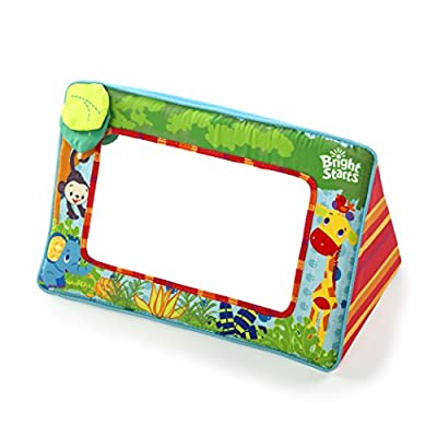 Bright Starts Sit and See Safari Floor Mirror