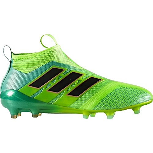 adidas Kids Ace 17+ Purecontrol Fg Solar Green/Core Black/Core Green Soccer Shoes - 5Y