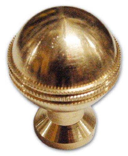 Knöpfe Messing gefräst 8 mm 25 mm Gewinde