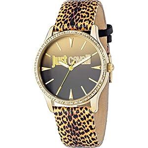 Just Cavalli Reloj analogico para Mujer de Cuarzo con Correa en Piel R7251211503