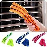 Pinceau à poussière brosse pour nettoyer la tache aveugle lacunes peuvent être rondelle fendue laver une voiture balai de la fenêtre de l'obturateur d'air climatisation