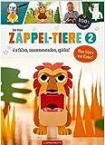 Zappel-Tiere 2: 6 x falten, zusammenstecken, spielen! (100% selbst gemacht)