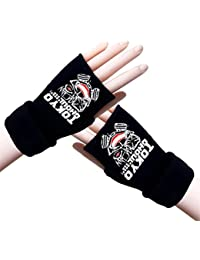 Bromeo Tokyo Ghoul Anime Invierno Calentar Medio Dedo Guantes Gloves Mittens