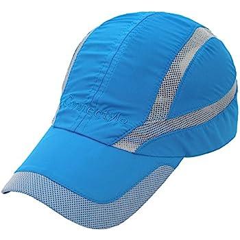 ab1e6ac98d7 Decentron Unisex Quick Drying Mesh Cap Outdoor Sports Hat Breathable Sun  Runner Cap
