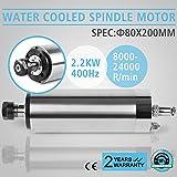 FurMune Spindelmotor Wasserkühlung 2.2KW ER20 Water Cooled Motor Für CNC-Gravieren (2.2kw Water Cooled)