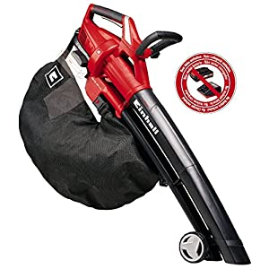 Einhell Cordless Leaf Blower vac GE-CL 36 Li E-Solo Power X-Change (2 x 18 V, 210 km/h air Speed, Electronic Speed…
