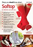 HJ91 Hall MENS SOFTOP Non Elastic Cotton Rich Socks 6-11 Red