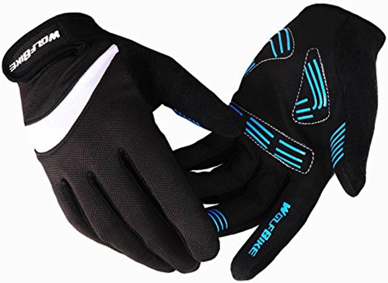 [bicicleta guantes] Hombre Ciclismo Guantes Pro-Biker bicicleta guantes antideslizantes Guantes Sport, hombre,...