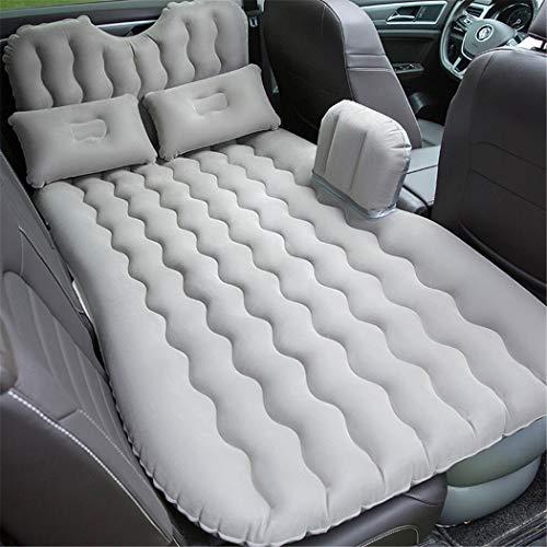 Y&Jack Auto Luftmatratze Outdoor Luftmatratze Universal Aufblasbare Auto Matratze Reise Schlaf Rest,Gray