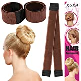 Fashion Hair Styling Donut Disk Haar ehemaligen Foam French Twist DIY Werkzeug Bun Maker