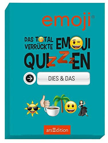 Preisvergleich Produktbild Das total verrückte emoji-Quizzen - Dies & Das