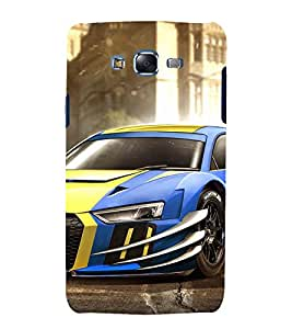 printtech Superfast Car Back Case Cover for Samsung Galaxy J5 / Samsung Galaxy J5 J500F