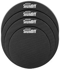Evans SO-2346 Standard Soundoff Drum Mute Pak (White)