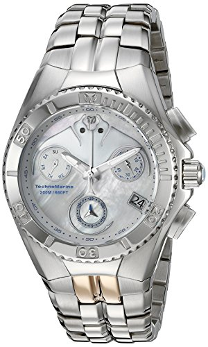 technomarine-mens-quartz-watch-with-white-dial-chronograph-display-and-silver-stainless-steel-bracel