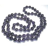 Schöne Amethyst Perlen rund Halskette Kristall Fashion Wicca Jewelry Herren Frauen Geschenk Positive Energie metaphysisch... preisvergleich bei billige-tabletten.eu