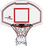 Power Play Basketballkorb mit Zielbrett weiss