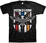 System of a Down - Eagle Colours - Offizielles Herren T-Shirt - Schwarz, XX-Large