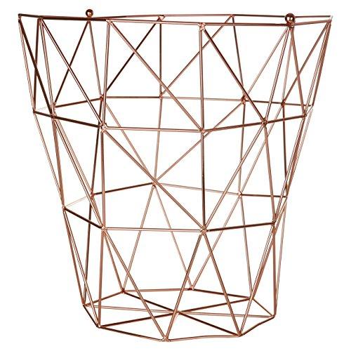 Premier Housewares Vertex, verkupfert, Metall, Kupfer, 31 x 31 x 31 cm