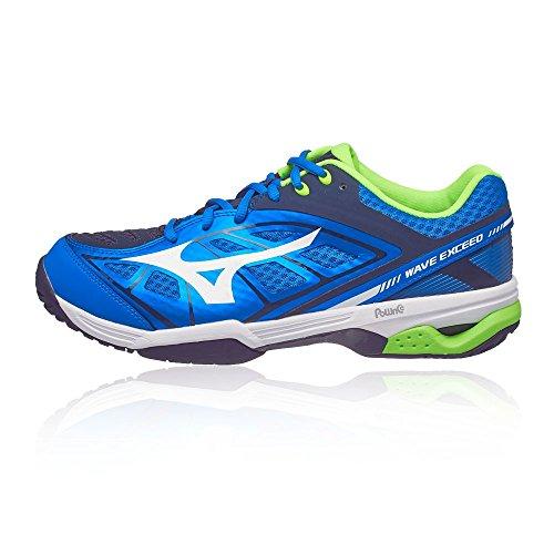 Azul Del Zapatos Wave Hombre Azul Tenis Mizuno Ac Exceed qxpBSw0