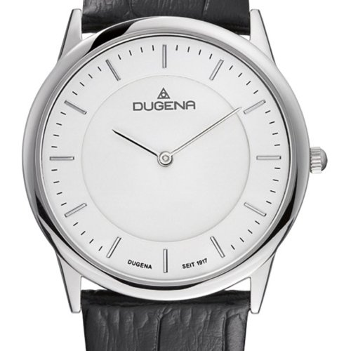 Dugena Classic Gents Watch Quartz Watch With Leather Strap 4460344