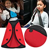 Kungfu Mall Cintura di sicurezza del bambino Cintura regolabile della cinghia della manopola Copertura di sicurezza auto per bambini imbracatura Auto Regolatore Pad
