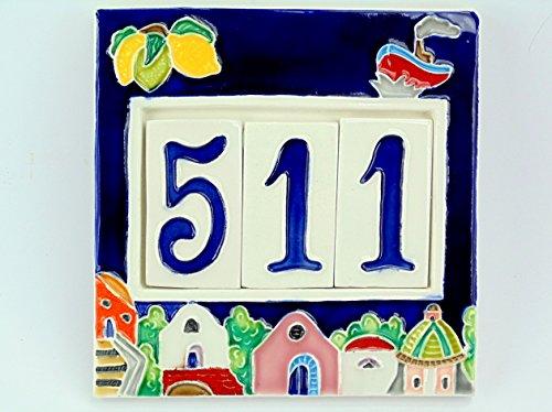 numeri-civici-cornice-in-ceramicapiastrellenumero-civico-mattonella-3-postiattenzione-i-colori-dei-s