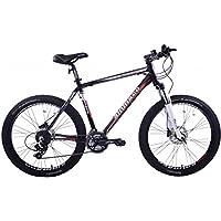 ammaco Alpine Expert 24velocità Mountain Bike in lega da uomo con freni a disco idraulici ruota 26