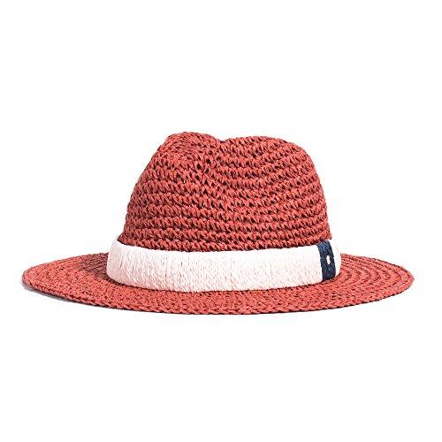 cf7f91b9c06ab Parfois - Sombreros Enformado Papel Coral - Mujeres - Tallas Única - Coral  Multicolor