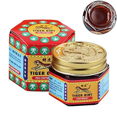 6 Stk rot weiße Tiger Balm Salbe chinesischen medizinischen Kopfschmerzen Schmerzmittel Salbe beruhigen Juckreiz Muskelschmerzen Massage Relief Salbe