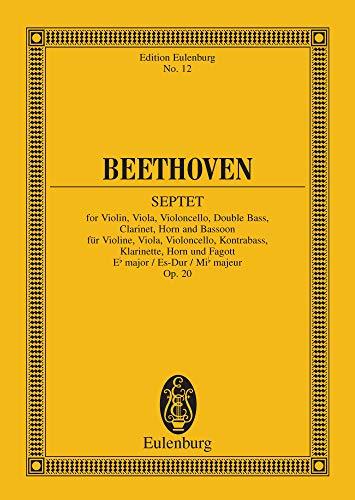 Septet E-flat major: Op. 20 (Eulenburg Studienpartituren) (English Edition)