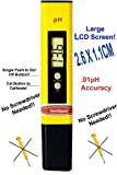 SemiSpare PH-02 Pocket Digital pH Meter with Auto calibration, No Screwdriver Required