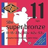 Rotosound CRS SB11 Jeu de Cordes en Bronze 11-15-22-30-42-52