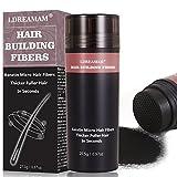 Fibre Naturali Di Cheratina,Risultati Immediati Per Coprire i Capelli Diradati, look naturale-Per effetto di ispessimento capelli
