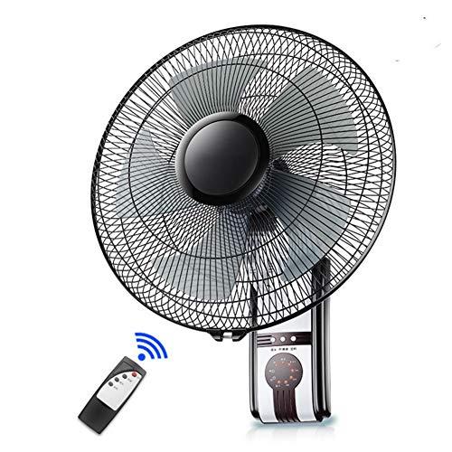 Wandventilator Wall Fan 16-Zoll-Schwenkkopf-Timer-Funktion mit externem Wandlüfter -