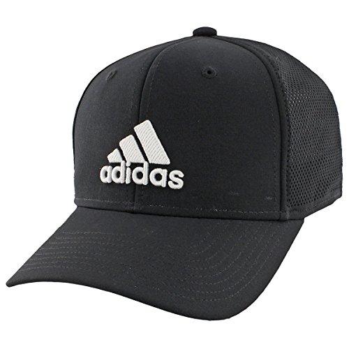 adidas Adizero Herren Scrimmage Stretch Fit Cap, Herren, schwarz/weiß -