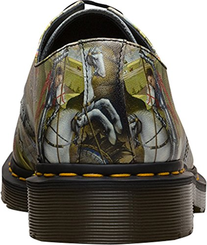 Dr. Martens 1461 Nero FL Cascade Split Black 3 fori scarpe invernali 21,765,001 Vert