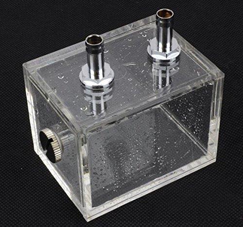 ZJchao 200ml Acryl Wasser Tank Kühler Wasserkühlung Kühler Pc CPU Wasserblock -