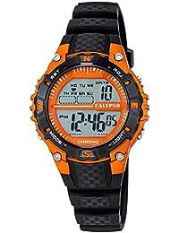 Calypso Reloj de pulsera para mujer cuarzo reloj reloj de plástico con Poliuretano banda de alarma Cronógrafo digital todos los modelos k5684, variante: 07